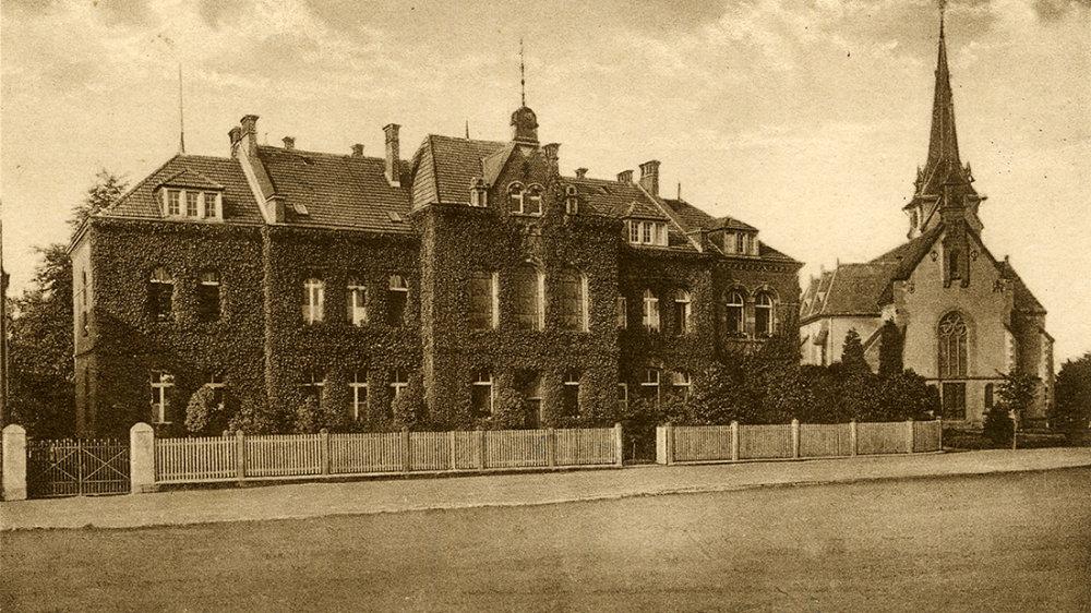 Wolsdorfer Waisenhaus um 1910