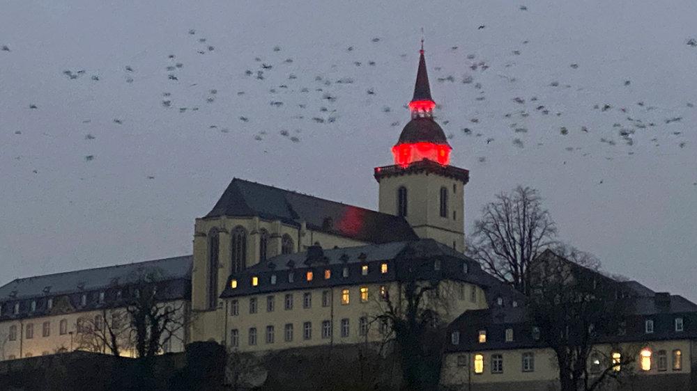 Die Abtei auf dem Michaelsberg