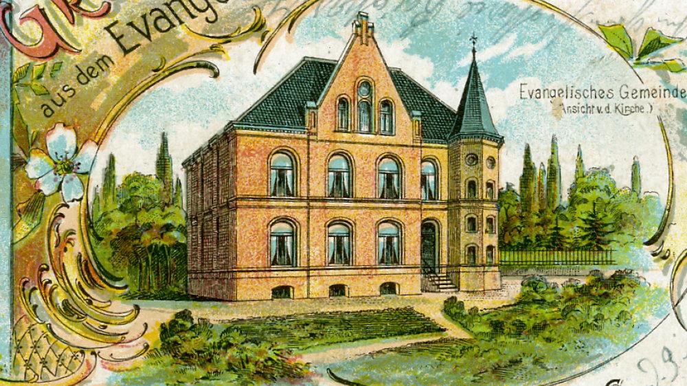 Evangelisches Gemeindehaus in der Georgstraße vor 1907