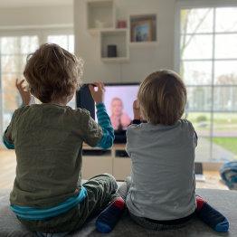 Kita-TV unterhält Pänz daheim