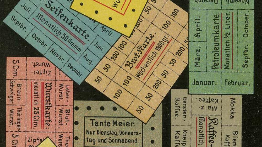 Bezugskarten 1916