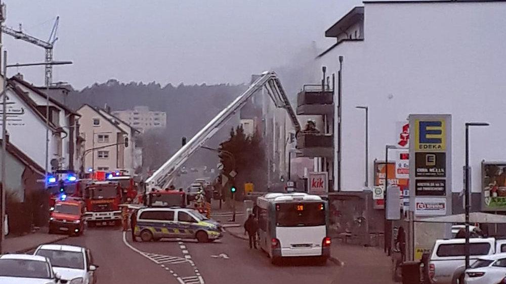 Brand im Akazienweg