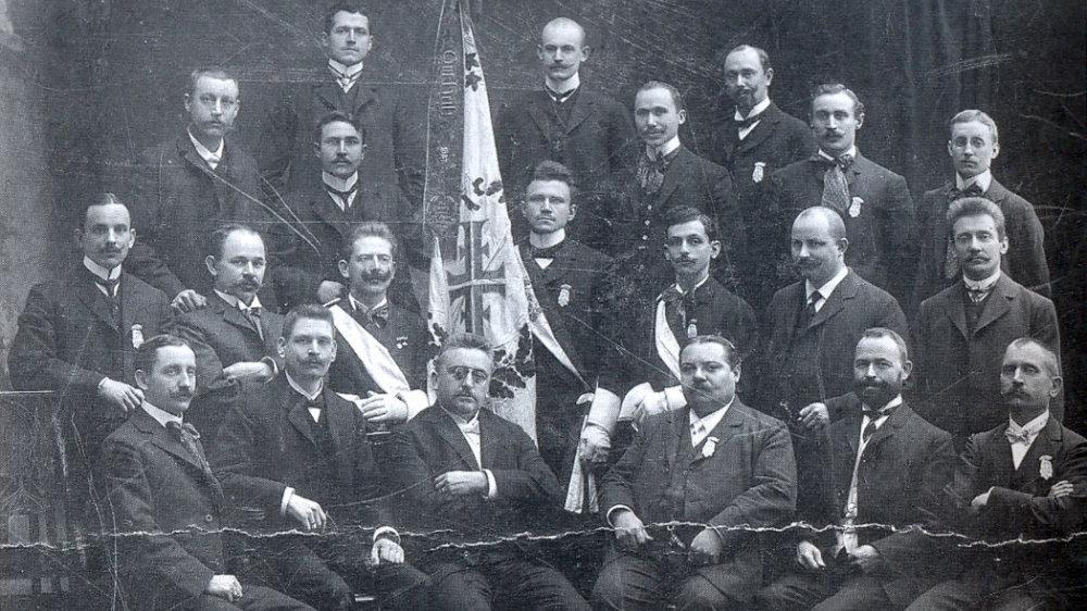 STV-Mitglieder 1908