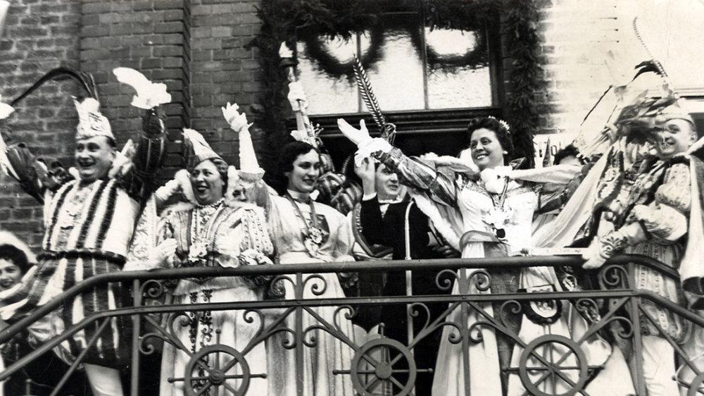 Rosenmontag 1956 mit Prinz Franz II.