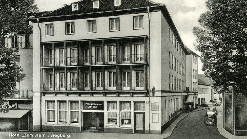 Hotel Zum Stern in den 1950er Jahren