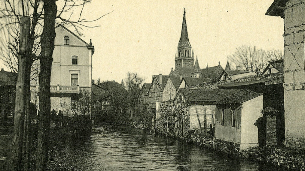 Der Mühlengraben in Siegburg