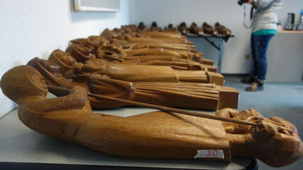 Die Heiligen aus Eichenholz