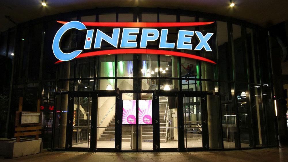 Cineplex Siegburg leuchtet
