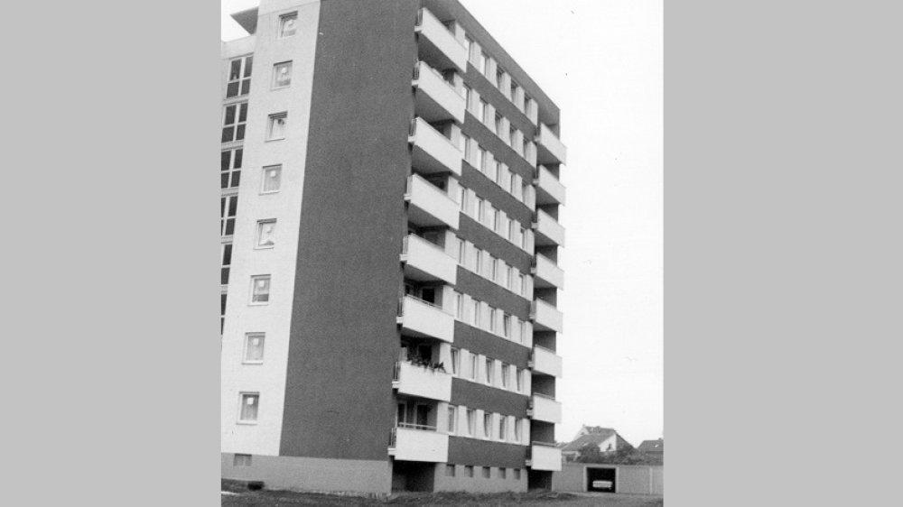 Punkthaus Zange 1966