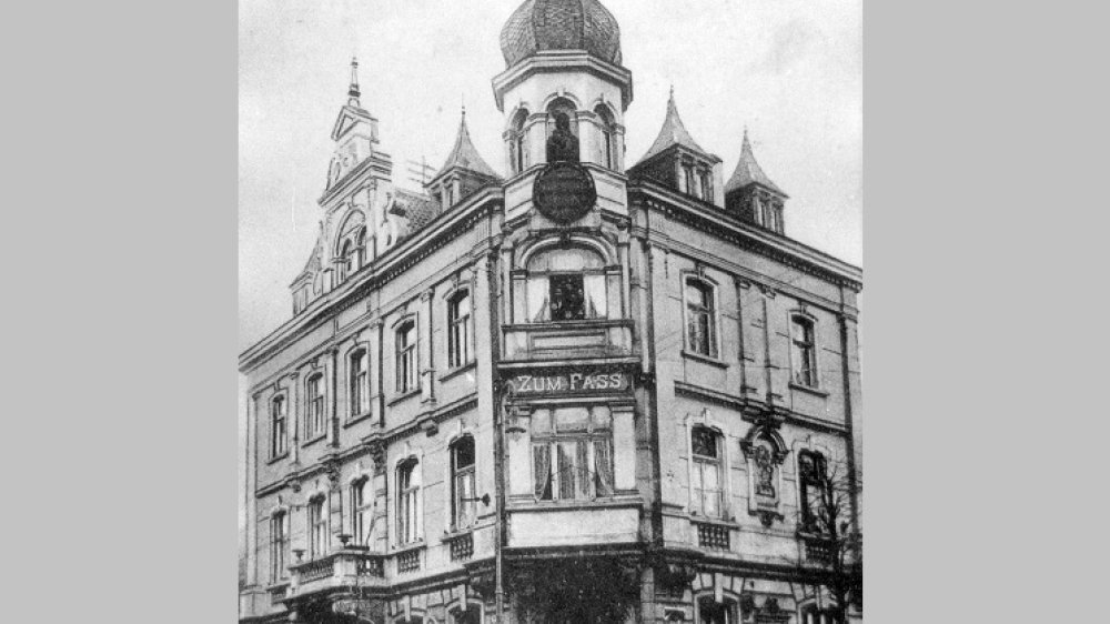 Zum Fass um 1900