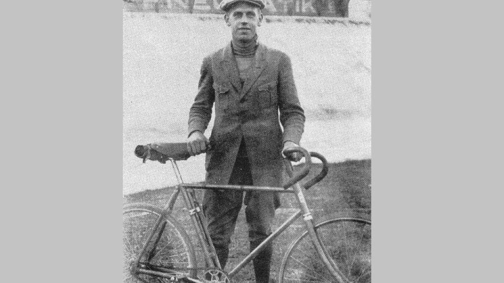 Richard Huschke im Jahre 1921