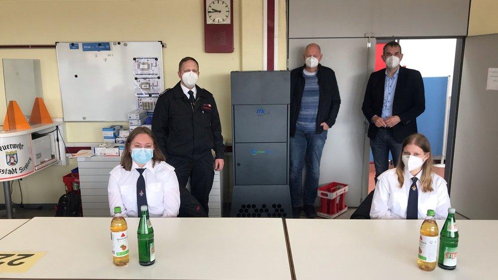 Virenfilter auf der Feuer- und Rettungswache