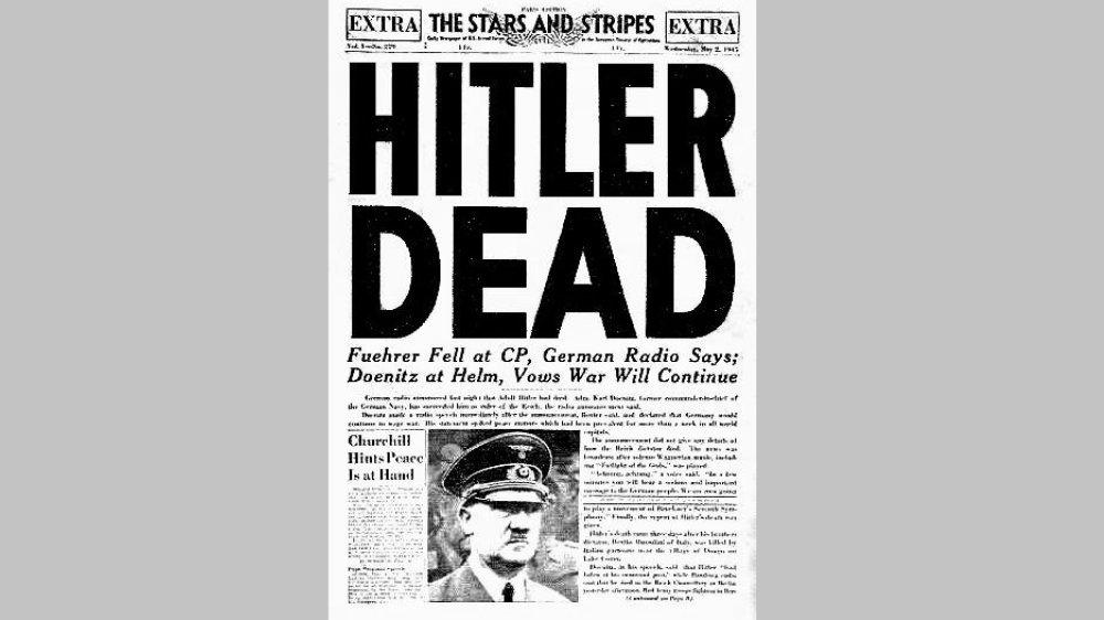 Hitler tot