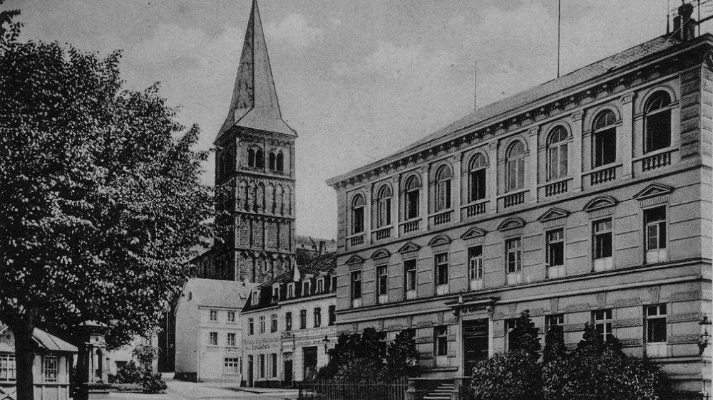 Gymnasium am Markt 1911