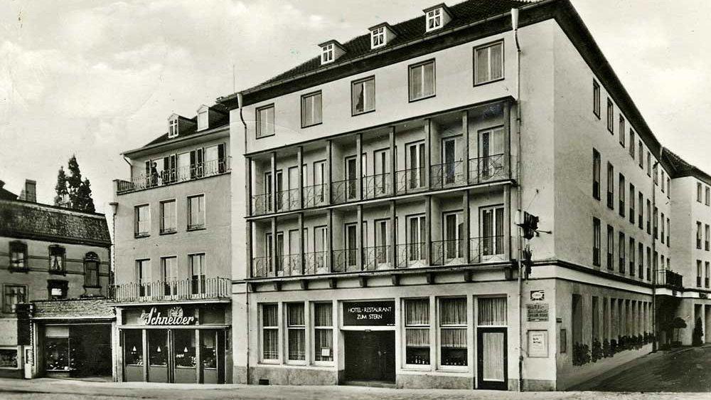 Hotel Zum Stern 1956