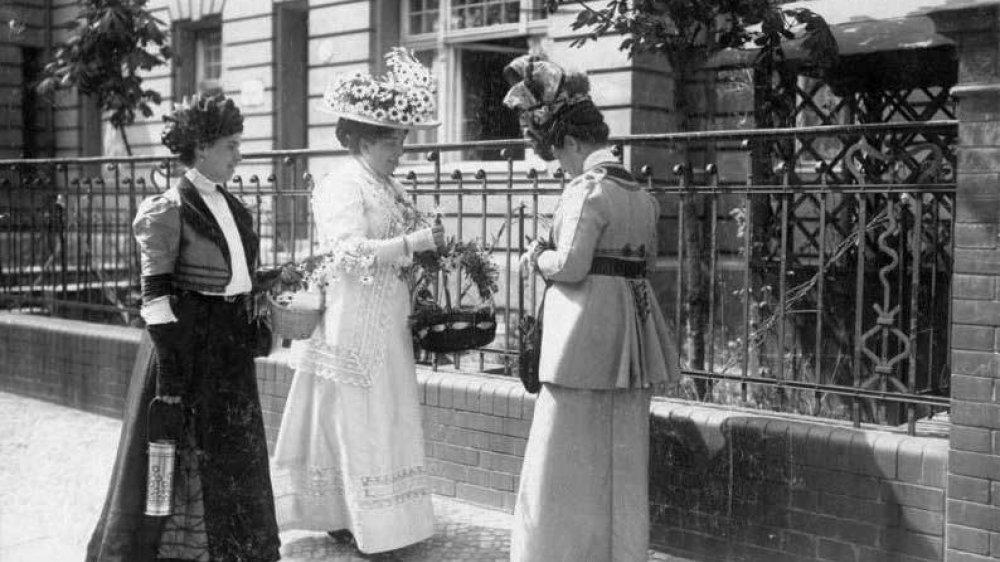 Blumensammeltag 1916