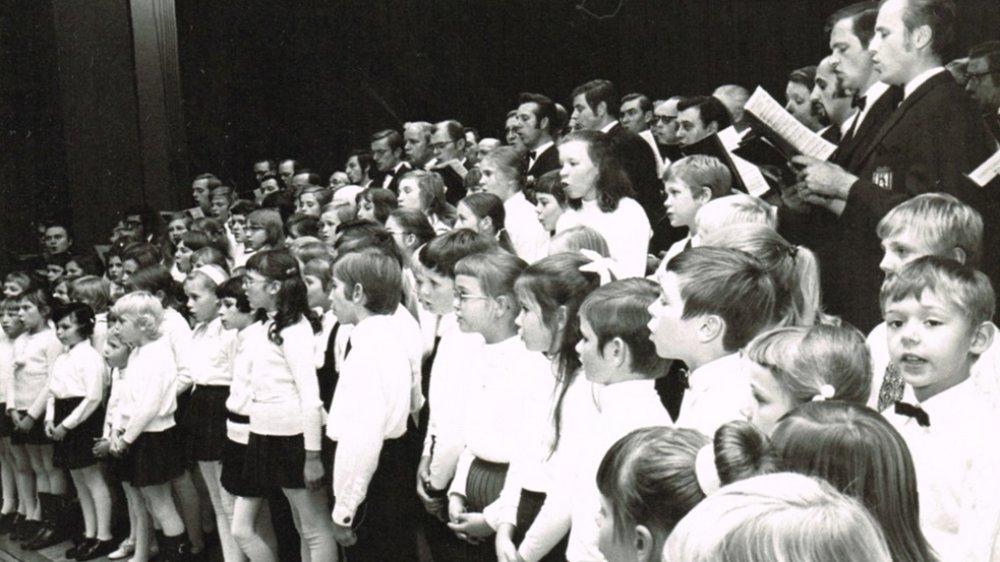 Kinderchor der Chorgemeinschaft Germania