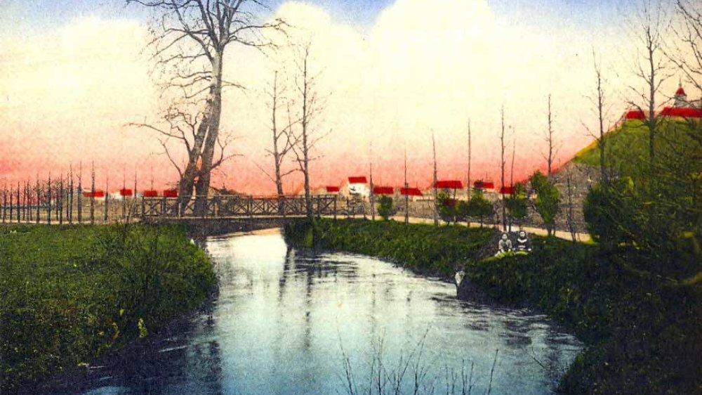 Der Mühlengraben 1911