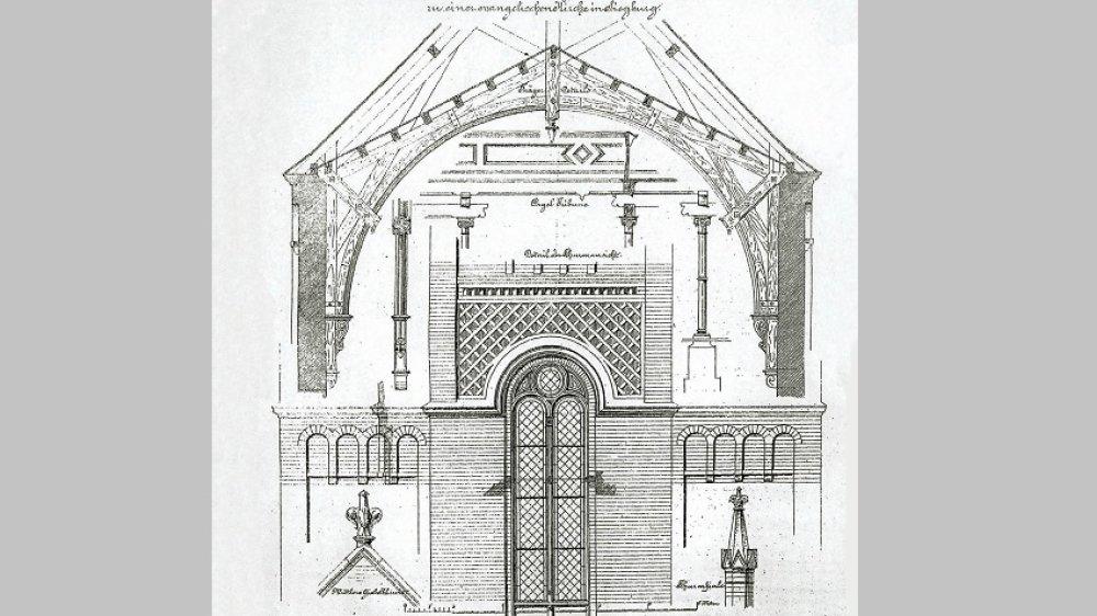 Kirchenentwurf