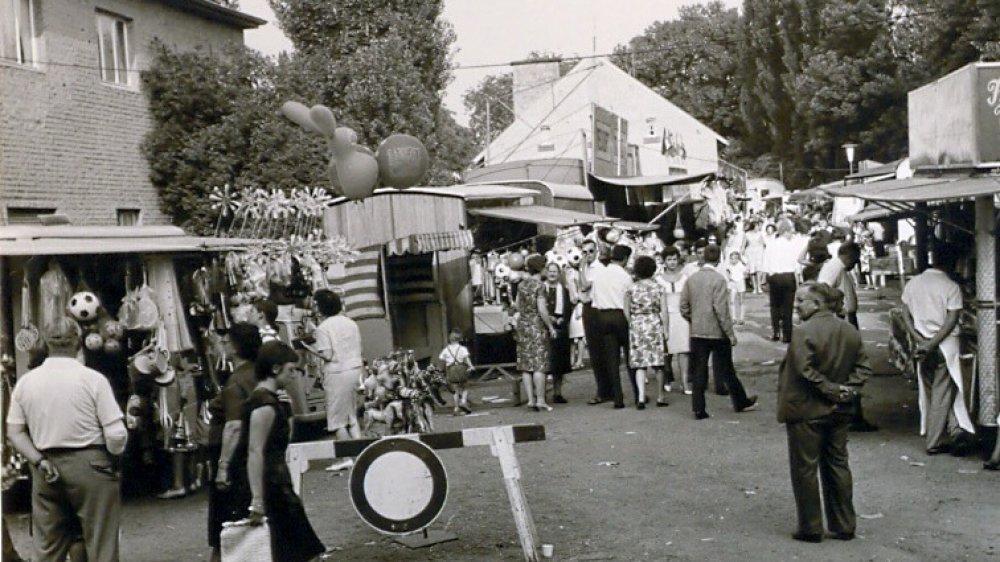 Kirmes auf dem Thingplatz in den 60er Jahren