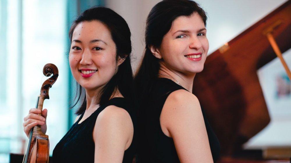 Duo Rei - Kaori Kobayashi, Violine und Katja Poljakova, Fortepiano