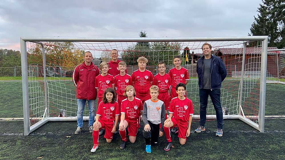Die D-Jugend des TSV Wolsdorf