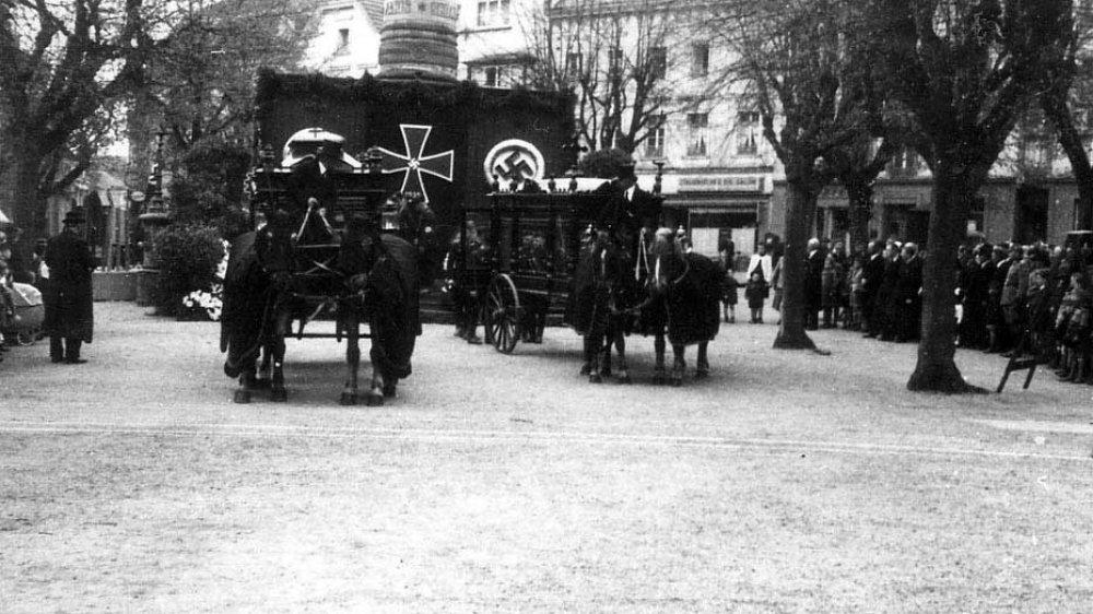 Nazi-Begräbnis 1941