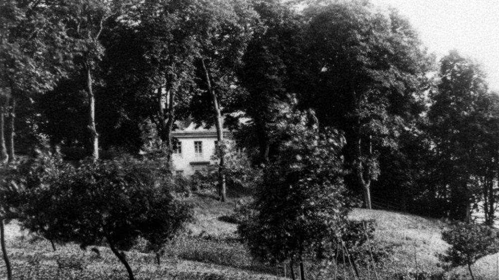 Siegburger Irrenanstalt, hier die Direktorenwohnung von Dr. Maximilian Jacobi auf dem Michaelsberg