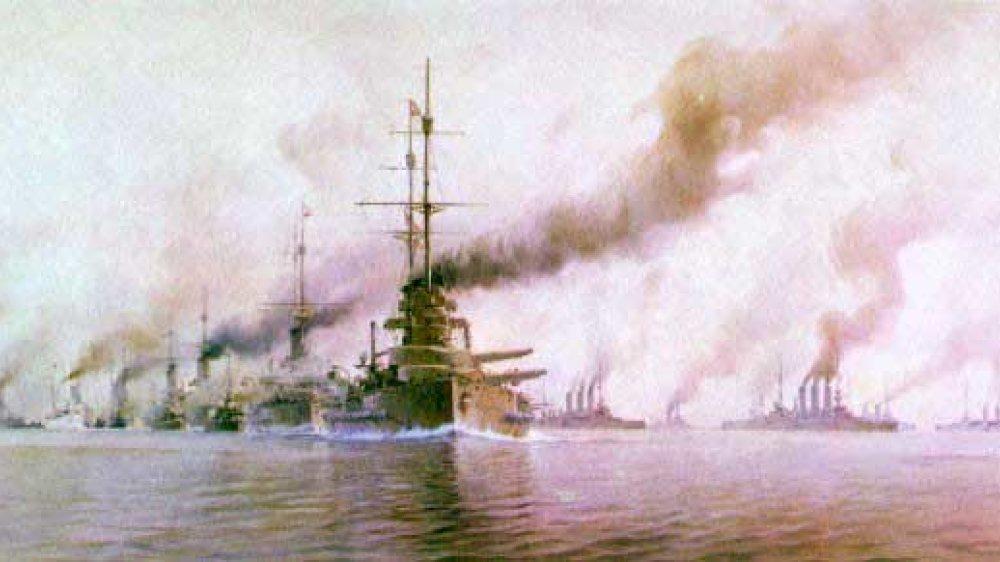 Britische Flotte am Skagerrak 1916