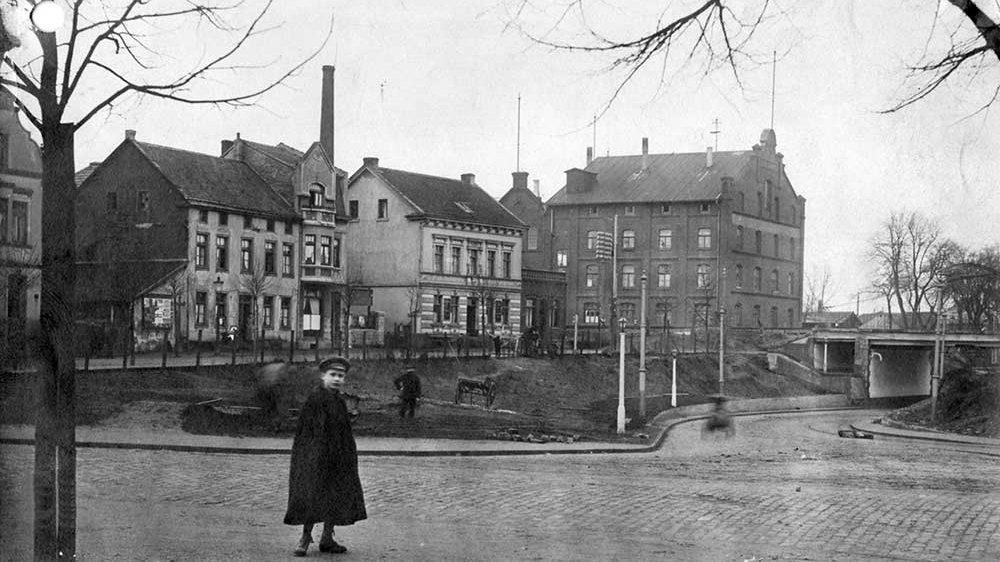 Rheinisches Eisenwerk, vormals Mühlenwerke Josef Zamponi, Bonner Straße 13, im Jahr 1916