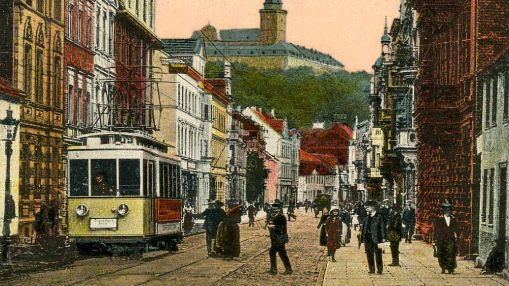 Die elektrische Bahn Siegburg-Zündorf 1916