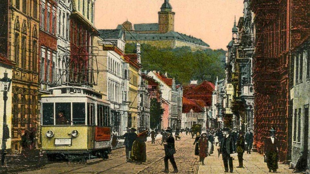 Elektrische Straßenbahn Siegburg-Zündorf 1921