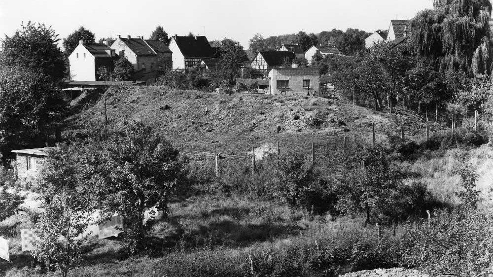 Scherbenhügel in der Seehofstraße 1962