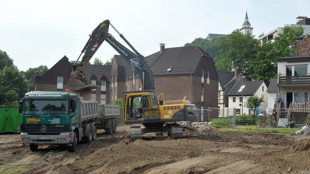 Baustelle Kleiberg 2011