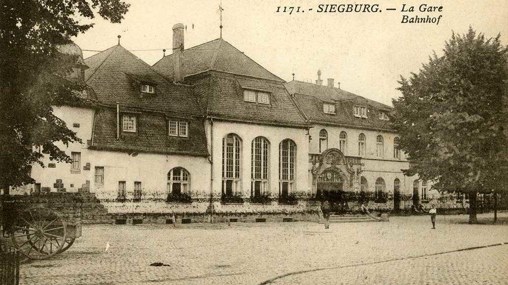 Bahnhof Siegburg 1921