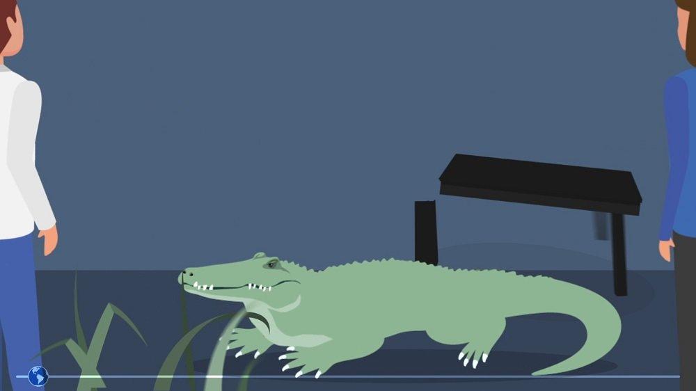 Screenshot aus dem Erklärfilm Klima