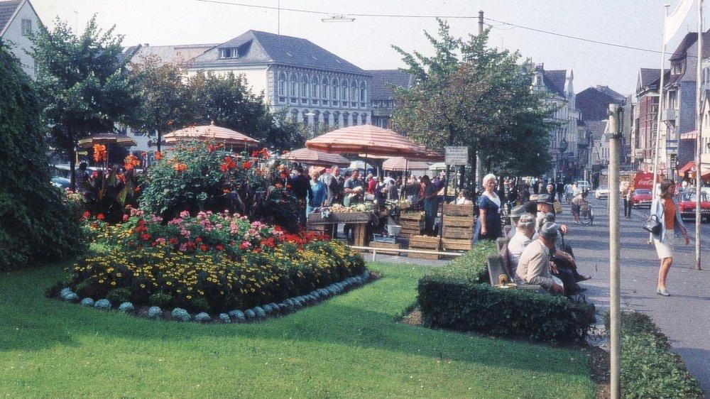 Markt Ende der 1960er