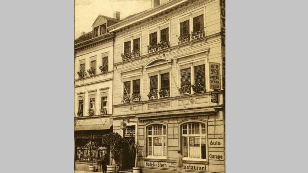 Hotel Zum Stern 1911