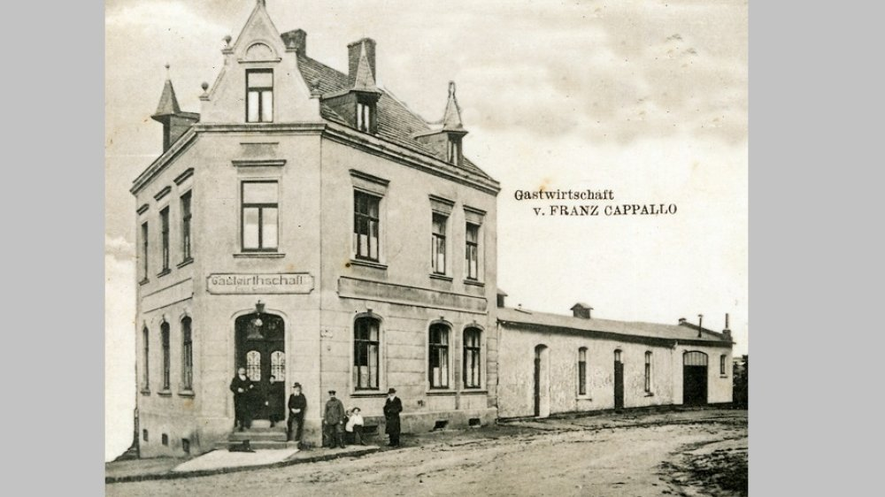 Gastwirtschaft Capallo, Jakobstraße 92.