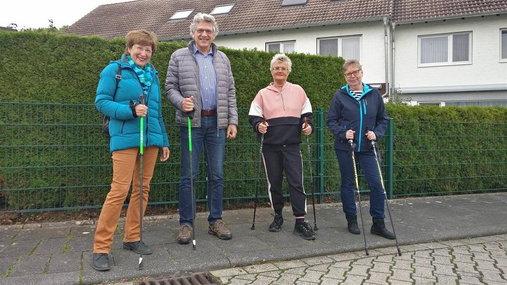 Gudrun und Norbert Ginkel, Uschi Nücken sowie Anne Braukmann (v.l.n.r.)