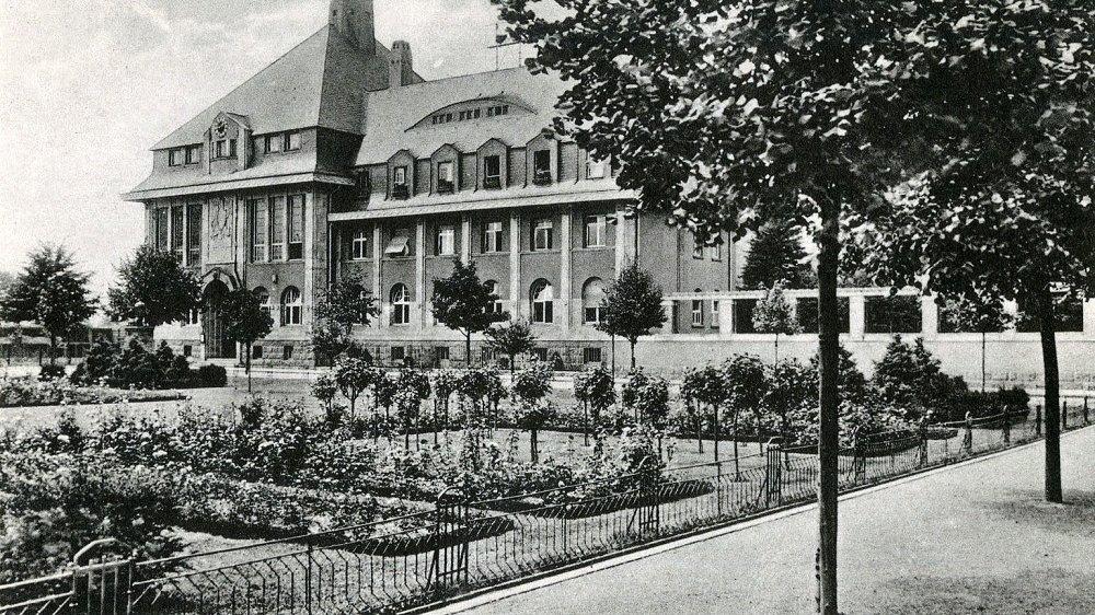 Das Kreishaus 1916