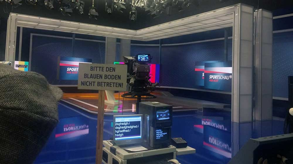 WDR-Sportschaustudio heute