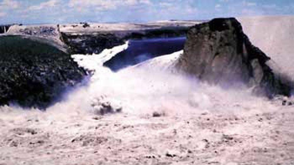 Der Teton-Damm 1976