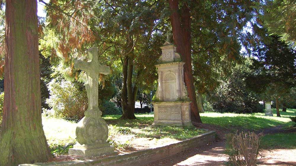 Alter Friedhof an der Johannesstraße