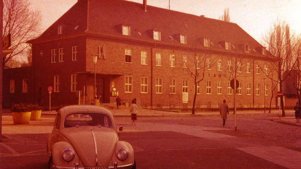 Hauptpost Anfang der 1960er