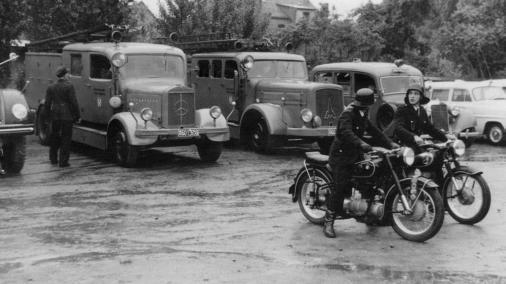 Siegburger Feuerwehr 1956