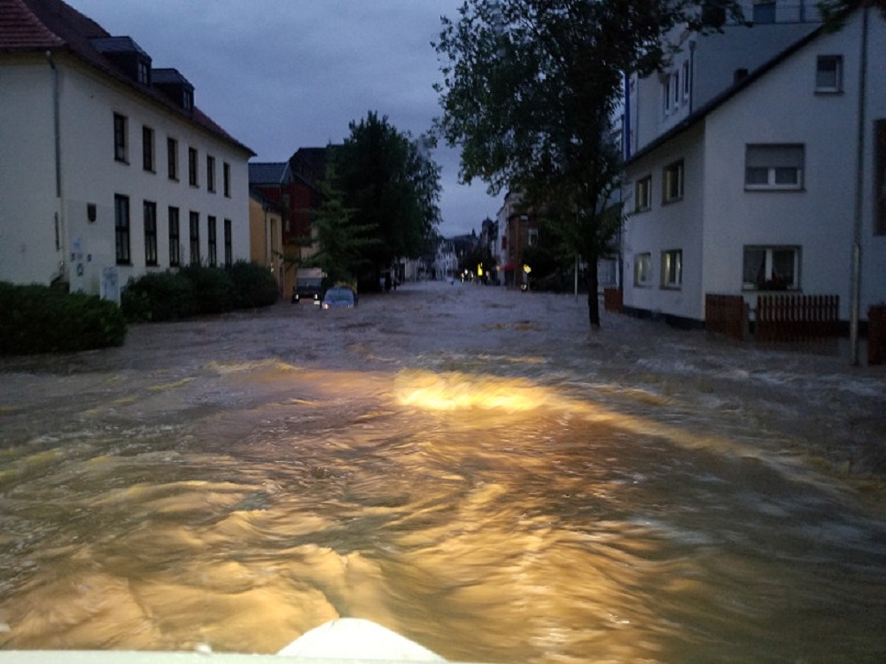 Aus Straßen werden Flüsse