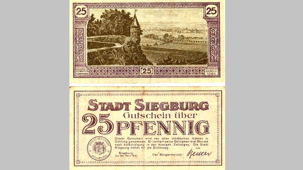 Siegburg Geld