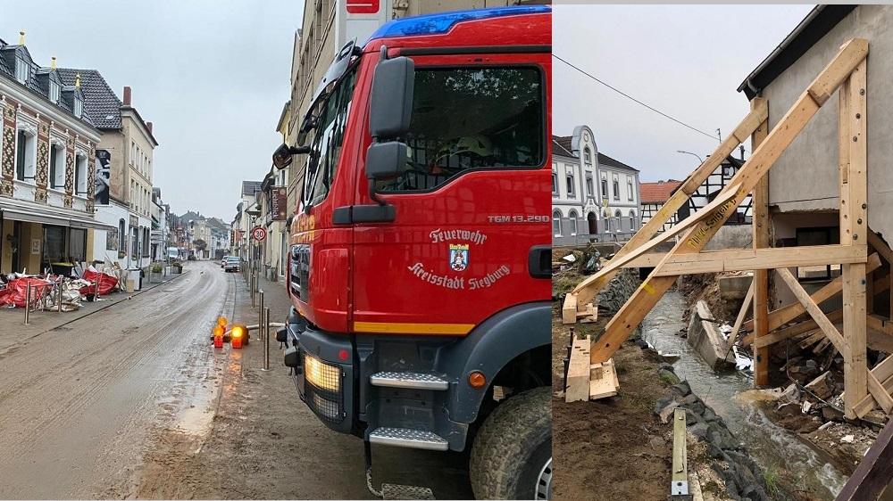 Siegburger Feuerwehr im Einsatz