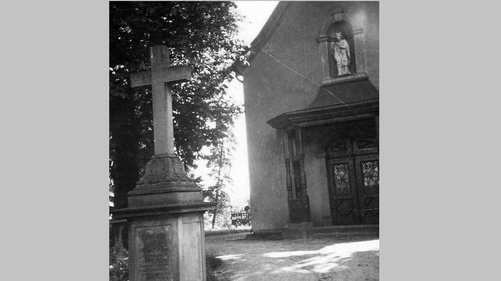 Nepomuk-Kapellchen auf dem Alten Friedhof an der Johannesstraße